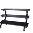 Troy Barbell 3-Tier Dumbbell Shelf Rack